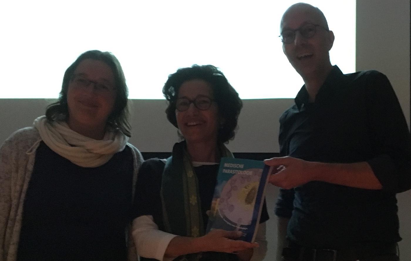 Boek: Medische Parasitologie gepresenteerd