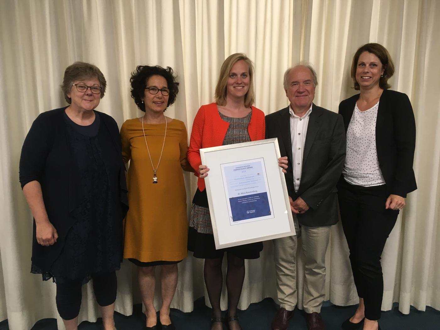 Boehringer-Ingelheim prijs naar Meta Roestenberg