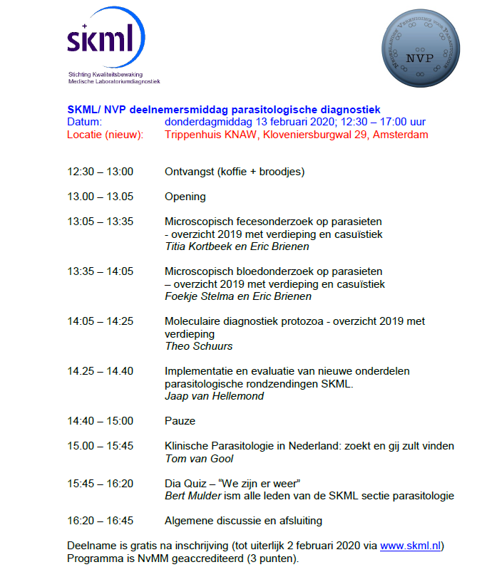 SKML deelnemersmiddag